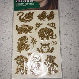 Jewelry - HAIR ART TEMPORARY TATTOOS 💐🌷🍁🍀🌕🌻